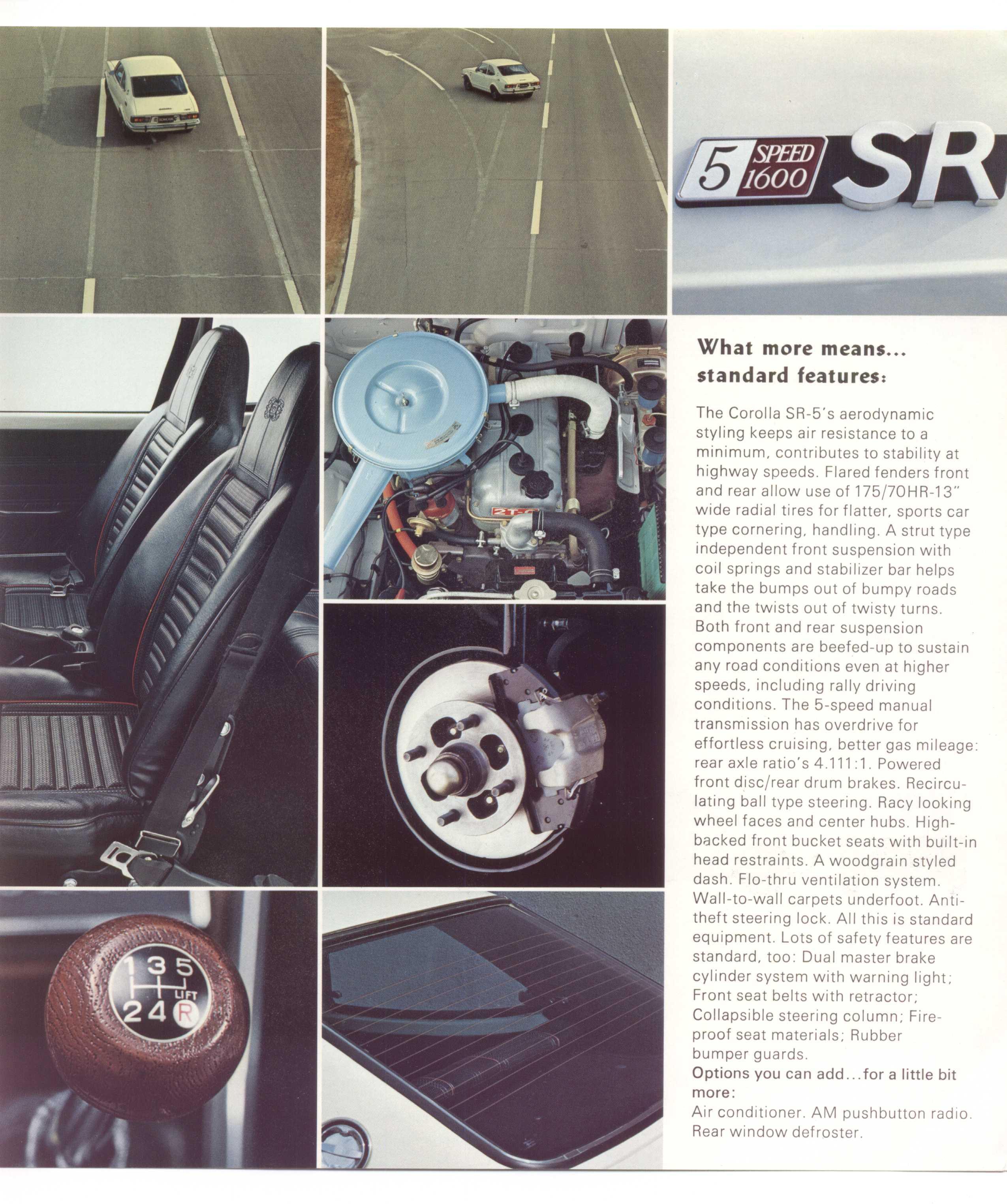 3K-C engine bay Models/specs