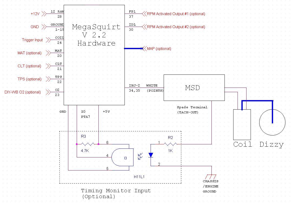 Megaspark Manual Mega 2 Hei Distributor Wiring Diagram