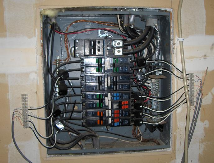 Fuse Box Or Breaker Box : Power monitor